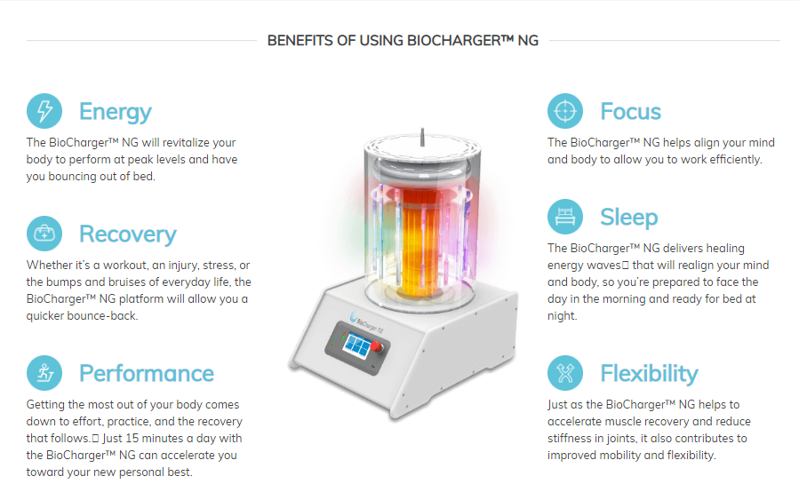 The BioCharger NG™ | The Cosmetic Laser Center of Sheboygan